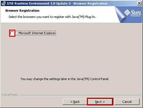 JDK5 0 Installation